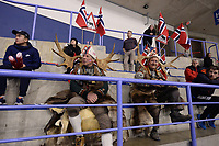 SPEEDSKATING: CALGARY: Olympic, Oval, 02-03-2019, ISU World Allround Speed Skating Championships, Norwegian spectators, ©Fotopersburo Martin de Jong