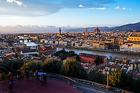 Afternoon View of Florence, Italy