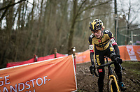Marianne Vos (NED/Jumbo-Visma)<br /> <br /> 2021 UCI CX World Cup Overijse (BEL)<br /> Vlaamse Druivencross<br /> <br /> Women's Race<br /> <br /> ©kramon