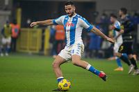 inter-napoli - milano 16 dicembre 2020 - Campionato Serie A 12° giornata - nella foto: Manolas