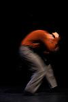 COMME UN BOND EN PLEIN CIEL....Chorégraphie, scénographie et interprétation : Serge Ambert..Création lumière : Vladimír Burian..Costume : Aline Querengässer..Réalisation décor et accessoires : Sophie Jacquemin..Conception et Univers sonore : AltiM..Images video : Sláva Sobotovicová..Régie générale : François Pelfrêne..Lieu : Théâtre Paul Eluard..Ville : Choisy le Roi..Le : 16 03 2010..© Laurent PAILLIER / photosdedanse.com..All rights reserved