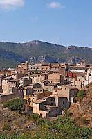 Vilella village. Priorato, Catalonia, Spain