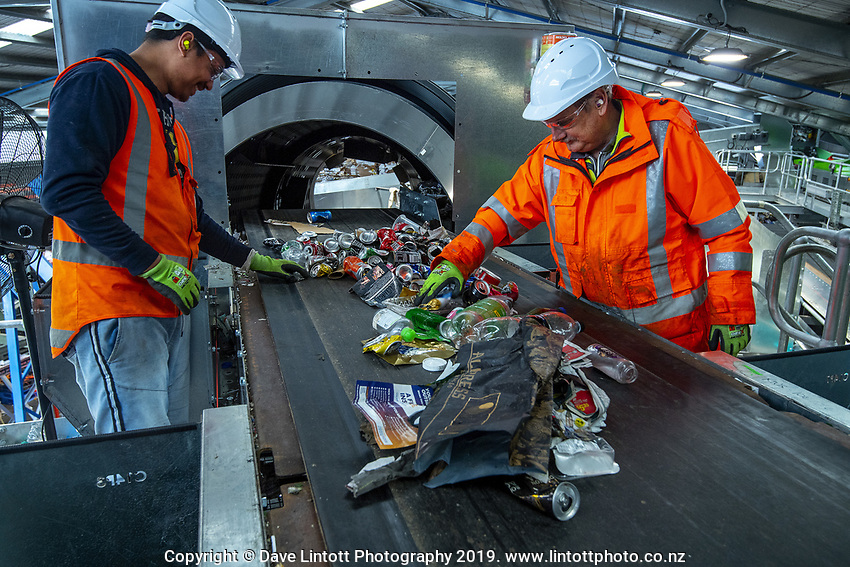 Masterton Recycling Centre in Masterton, New Zealand on Wednesday, 16 October 2019. Photo: Dave Lintott / lintottphoto.co.nz