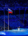 IOC President Thomas Bach speaks during the Opening Ceremony of the 2014 Sochi Olympic Winter Games at Fisht Olympic Stadium on February 7, 2014 in Sochi, Russia. Photo by Victor Fraile / Power Sport Images