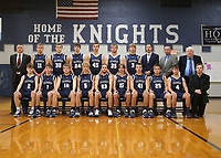 Boys Basketball team & individuals 11/20/19