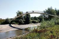 Nederland  Nijmegen  - September 2020 . De Ooijpoort.  Brug naar de Ooijpolder.    Foto : ANP/ Hollandse Hoogte / Berlinda van Dam