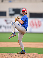 Wellington Wolverines pitcher Dawson Ball (1) during the 42nd Annual FACA All-Star Baseball Classic on June 5, 2021 at Joker Marchant Stadium in Lakeland, Florida.  (Mike Janes/Four Seam Images)