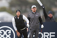 3rd October 2021; The Old Course, St Andrews Links, Fife, Scotland; European Tour, Alfred Dunhill Links Championship, Fourth round; Danny Willett of England reacts to the direction of his drive from the sixteenth tee during the final round of the Alfred Dunhill Links Championship on the Old Course, St Andrews