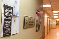 les Urgence de la rive sud durant la saison de la Grippe 2013<br /> <br /> PHOTO :  Agence Quebec Presse