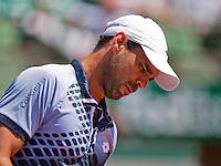 France, Paris , May 24, 2015, Tennis, Roland Garros, Alejandro Falla (COL)<br /> Photo: Tennisimages/Henk Koster
