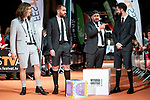 Marcos Martinez 'Grison', Jorge Ponce, Ricardo Castella and David Broncano attends to orange carpet of new comedian schedule of #0 during FestVal in Vitoria, Spain. September 06, 2018 (ALTERPHOTOS/Borja B.Hojas)