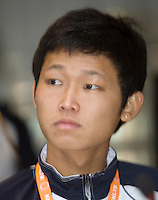 18-9-08, Netherlands, Apeldoorn, Tennis, Daviscup NL-Zuid Korea, Draw in cityhall, JaeSung An