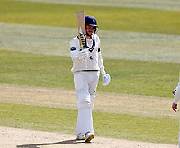 Fifty for Kent night wachman Matt Milnes during Kent CCC vs Yorkshire CCC, LV Insurance County Championship Group 3 Cricket at The Spitfire Ground on 18th April 2021