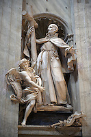 Statue in St Peters Cathedral, The Vatican.