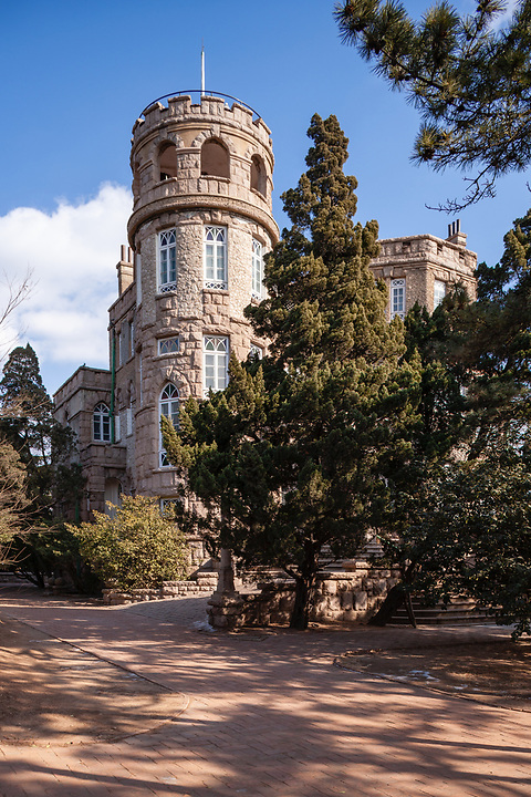 Governor General's Hunting Lodge, Badaguan, Qingdao (Tsingtao).  Later Acquired By A White Russian Businessman As A Residence.