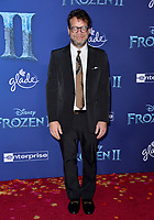 """LOS ANGELES, USA. November 08, 2019: Christophe Beck at the world premiere for Disney's """"Frozen 2"""" at the Dolby Theatre.<br /> Picture: Paul Smith/Featureflash"""