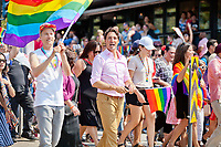 Justin Trudeau at the Vancouver Pride Parade - 2018