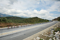 stretched peloton<br /> <br /> Tour of Turkey 2014<br /> stage 6