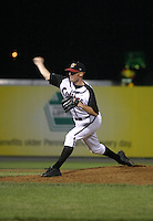 August 25, 2003:  Pitcher Kurt Shafer of the Williamsport Crosscutters during a game at Bowman Field in Williamsport, Pennsylvania.  Photo by:  Mike Janes/Four Seam Images