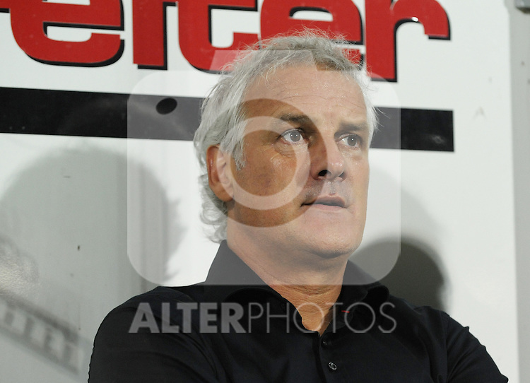 18.08.2011, Keine-Sorgen-Arena, Ried, AUT, UEFA EL, PLAYOFF, SV RIED (AUT) vs PSV EINDHOVEN (NED), Hinspiel, im Bild Trainer Fred Rutten (PSV Eindhoven, #) during the UEFA Europaleague, 1st Leg Playoff Match, SV Ried against PSV Eindhoven at Keine-Sorgen-Arena, Ried, Austria on 2011-08-18 , EXPA Pictures © 2011, PhotoCredit: EXPA/ R. Eisenbauer