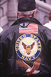 NAVY MAN SHOWS PRIDE AT PRO IRAQ WAR RALLY