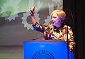Creative Place Awards 2015, host Janice Forsyth.