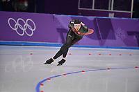 OLYMPIC GAMES: PYEONGCHANG: 14-02-2018, Gangneung Oval, Long Track, 10.000m Men, Ted-Jan Bloemen (CAN), ©photo Martin de Jong