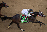 MAY 2, 2014: Got Lucky, ridden by John Velazquez, passes the grand stands for the first time in Kentucky Oaks Stakes at Churchill Downs in Lexington, KY. Jon Durr/ESW/CSM