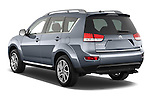 Rear three quarter view of a 2007 - 2012 Citroen C-CROSSER Exclusive  SUV 4WD
