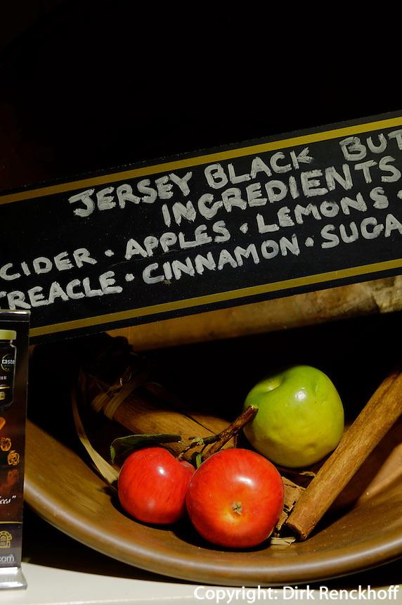 Black Butter im La Mare Wine Estate, Insel Jersey, Kanalinseln