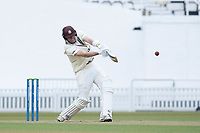 Jamie Overton of Surrey attempts to go big before the declaration during Surrey CCC vs Hampshire CCC, LV Insurance County Championship Group 2 Cricket at the Kia Oval on 1st May 2021