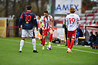Ben Coker of Stevenage FC during Stevenage vs Bolton Wanderers, Sky Bet EFL League 2 Football at the Lamex Stadium on 21st November 2020