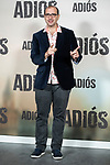 Paco Cabezas in the press junction of 'ADIOS', the new work of director Paco Cabezas, which has an undisputed and recognized cast headed by Mario Casas, the two-time winner of Goya Natalia de Molina, and Goya nominees Ruth Diaz and Carlos Bardem.<br /> November 15, 2019. <br /> (ALTERPHOTOS/David Jar)
