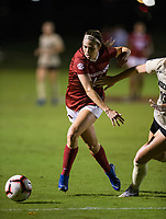 NWA Democrat-Gazette/BEN GOFF @NWABENGOFF<br /> Taylor Malham, Arkansas midfielder, in the first half vs Vanderbilt Thursday, Sept. 26, 2019, at Razorback Field in Fayetteville.