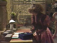 BNPS.co.uk (01202 558833)<br /> Pic: BBC <br /> <br /> Pictured: A jewel box as seen in Dr. Who (Tom Baker) Episode: 'Keeper of Traken' (1981).<br /> <br /> Scarce props used in Dr Who that were given to a crew member for his children to play with after filming have emerged for sale.<br /> <br /> The memorabilia that featured in episodes starring Tom Baker as the Doctor in the 1970s includes spage-age weapons, a Tardis control dial and a correction helmet.