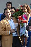 05 September 2009: Owner Michael Moreno after Mi Sueno wins the Darley Debutante at Del Mar Race Track, Del Mar, CA