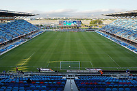SAN JOSE, CA - MAY 1: PayPal Park before a game between D.C. United and San Jose Earthquakes at PayPal Park on May 1, 2021 in San Jose, California.
