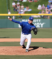 Caleb Simpson - Chicago Cubs 2020 spring training (Bill Mitchell)