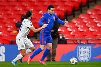 25th March 2021; Wembley Stadium, London, England;  Ben Chilwell England controls the ball during the World Cup 2022 Qualification match between England and San Marino at Wembley Stadium in London, England.