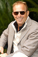 "KEVIN COSTNER.Photocall for ""Modern West"", Kevin Costner band, Hotel De Russie, Rome, Italy..October 24th, 2007.half length sunglasses shades beige jacket .CAP/CAV.©Luca Cavallari/Capital Pictures."