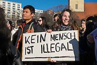 2014/02/13 Berlin | Schulstreik für Flüchtlinge