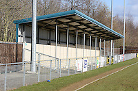 Covered terrace at Wodson Park - Ware vs Romford - Ryman League Division One North at Wodson Park - 06/03/10 - MANDATORY CREDIT: Gavin Ellis/TGSPHOTO - Self billing applies where appropriate - Tel: 0845 094 6026