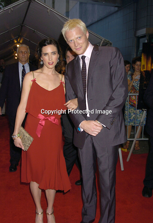 """Jennifer Connelly and husband Paul Bettney ..at The World Premier of """"Dark Water"""" on June 27, 2005 at ..The Clearview Chelsea West Cinema...Photo by Robin Platzer, Twin Images"""