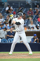 Tim Elko (27) of the East Team bats against the West Team during the Perfect Game All American Classic at Petco Park on August 14, 2016 in San Diego, California. West Team defeated the East Team, 13-0. (Larry Goren/Four Seam Images)