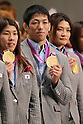 2012 Olympic Games - Press Conference in Japan