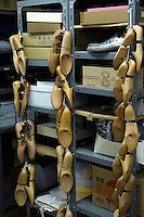 Shoe tree (last) at the atelier of Sarukawa Footwear College