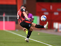 17th October 2020; Vitality Stadium, Bournemouth, Dorset, England; English Football League Championship Football, Bournemouth Athletic versus Queens Park Rangers; Lewis Cook of Bournemouth keeps the ball in play