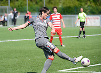 20140419 - ANTWERPEN , BELGIUM : Standard's Cecile De Gernier pictured during the soccer match between the women teams of RAFC Antwerp Ladies  and Standard Femina  , on the 24th matchday of the BeNeleague competition on Saturday 19 April 2014 in Deurne .  PHOTO DAVID CATRY