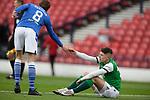 22.05.2021 Scottish Cup Final, St Johnstone v Hibs: Hibs dejection, Kevin Nisbet