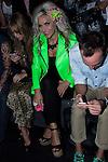 03.09.2012. Celebrities attending the Carlos Diez and Maria Escote fashion show during the Mercedes-Benz Fashion Week Madrid Spring/Summer 2013 at Ifema.  (Alterphotos/Marta Gonzalez)